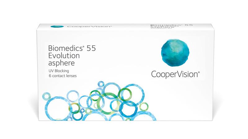 Cooper Vision Biomedics 55 Evolution asphere