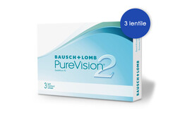 Bausch+Lomb PureVision 2 HD (3 buc.)
